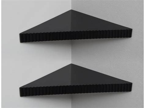 reusable triangular corner shelves 2 pack woot