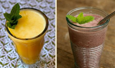 2 fruit smoothie recipe two fresh fruit smoothie recipes how to make fruit smoothies