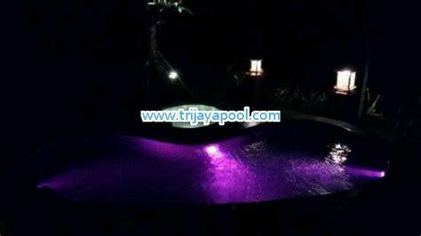 membuat lu led kolam pembuatan kolam renang dengan lu under water trijaya pool