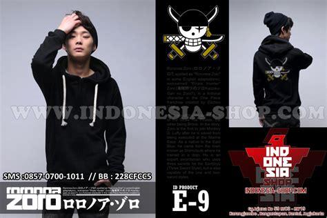 Jaket One Mugiwara T1310 1 fashion korea jaket one roronoa zoro 2015