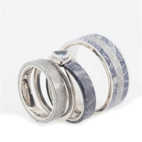 bezel set wedding band platinum platinum wedding band set with bezel set blue topaz