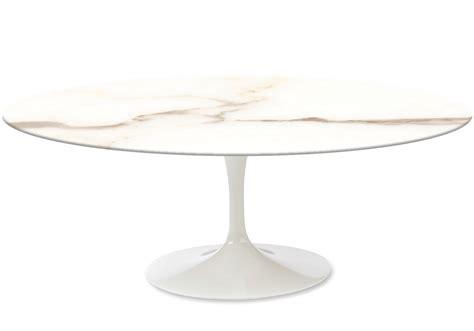 tavolo knoll saarinen ovale saarinen table basse oval de marbre knoll milia shop