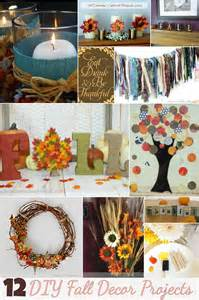 diy fall decorating projects decorate for the thanksgiving with these 12 diy fall decor