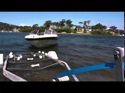 ark boat guide ark ezi guide boat alignment system youtube