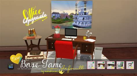 office conversion  sims  catalog