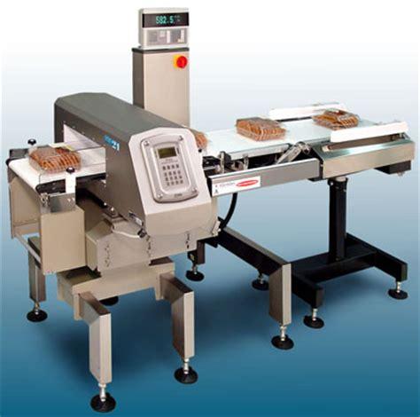 deteccion de metales  pesaje en empaque de alimentos