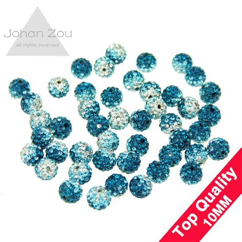 gets wholesale beads and jewelry accessories online from wholesale 10mm shamballa beads accessories gradient color