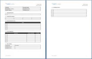 Templates For Minutes Of Meetings And Agendas by One On One Meeting Agenda Template 3 Best Agenda Templates