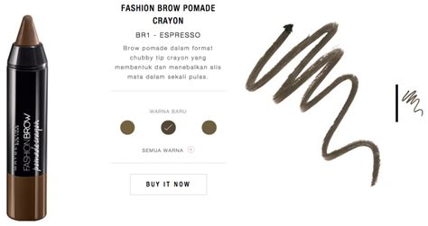 Maybelline Fashion Brow Pomade Crayon Eyebrow Pensil Alis maybelline fashion brow pomade crayon review