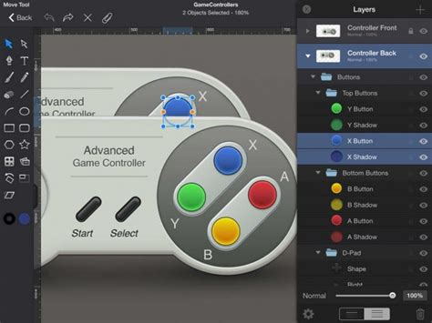 design hunt for ios eight layers version 2 1 of idraw for ipad features ios 8 optimizations