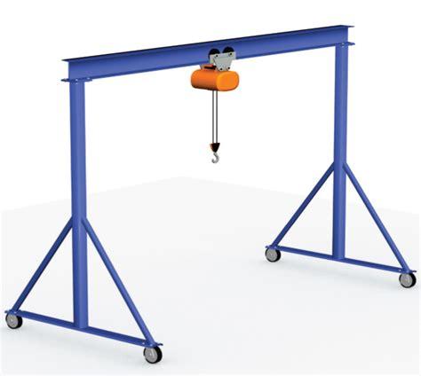 design lifting frame fixed height portable gantry cranes 1 ton 2 ton 3 ton
