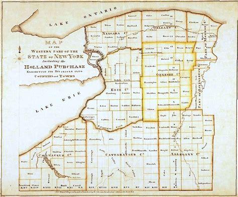 map of new york and surrounding areas buffaloniagara 1825