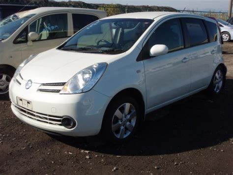 nissan note 2005 white nissan note 15rx 2005 used for sale