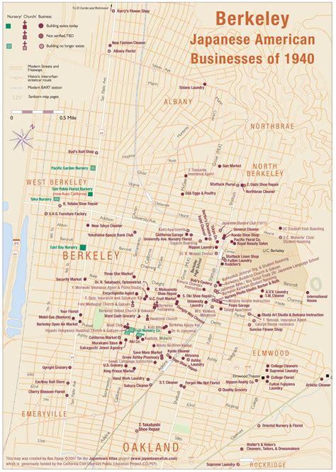 map of berkeley california berkeley map