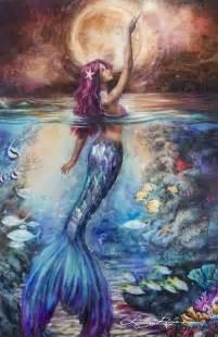 Mermaid paintings mermaid art mermaid images anime mermaid mermaid
