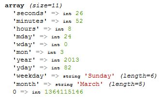format date output bash php date time zentut