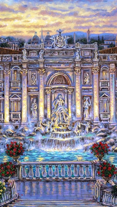 wallpaper iphone 6 roma 640x1136 trevi fountain rome italy iphone 5 wallpaper