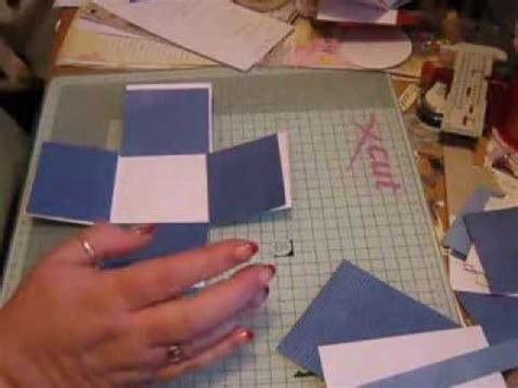 How To Make A Small Book Out Of Paper - small exploding box tutorial re card tips on