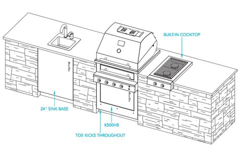outdoor blueprint outdoor kitchen plans kalamazoo outdoor gourmet
