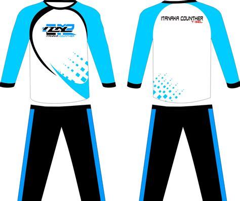 contoh desain garapan kostum olahraga  trening desain