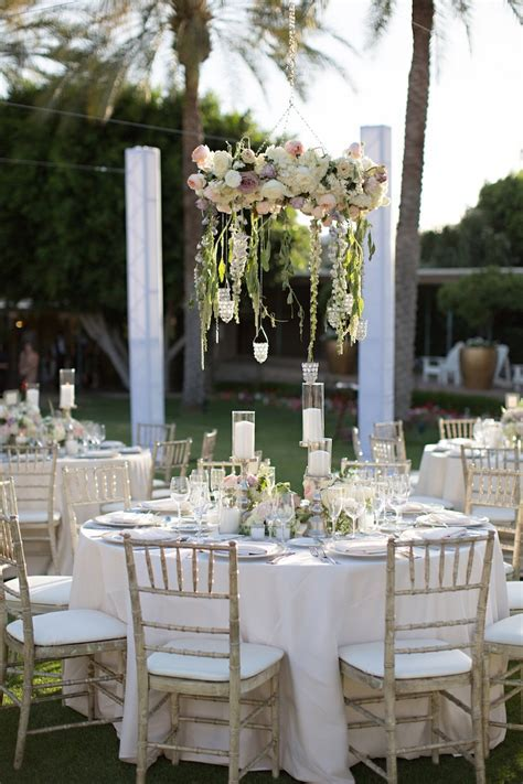 Reception Décor Photos   Garden Theme Guest Tables