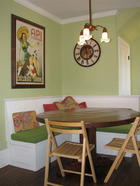 corner banquette corner banquette traditional kitchen san francisco
