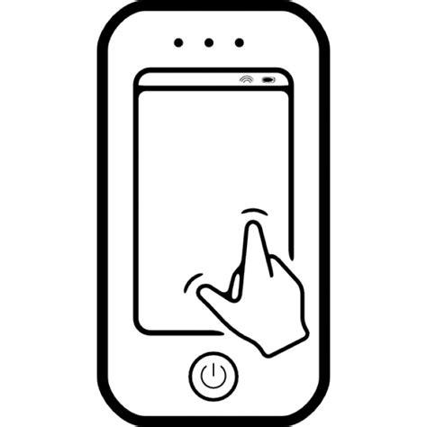 imagenes para celular tactil gratis tel 233 fono con pantalla t 225 ctil de la mano descargar iconos