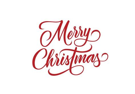 merry christmas decorative lettering vector   vector art stock graphics images