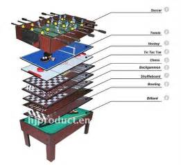 Foosball Table Tornado by 5 In 1 Pool Table Mdf Multi Purpose Game Table For Kids
