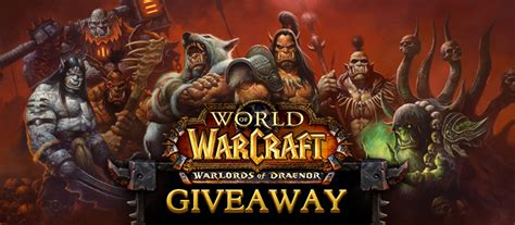 World Of Warcraft Giveaway - free mmorpg list and mmo games mmorpg com