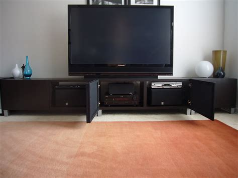 furniture display space  audio components