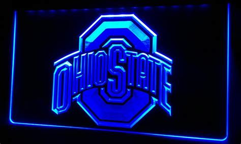 ohio state neon light cheap ls224 b ohio state neon light sign by