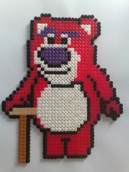 Lotso Story Hama Perler Disney 131 best lotso images on 1st birthday cakes 3