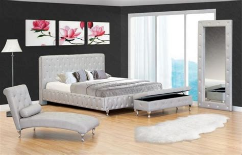 crystal bedroom furniture cagliari crystal silver leatherette bed 599 ideas for