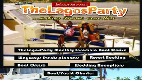 boat cruise price in lagos lagos party insomnia boat cruise afro tourism
