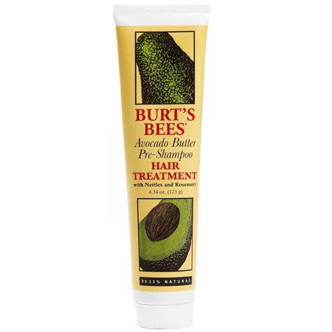 burt s burt s bees avocado butter pre shoo treatment 4 34 oz