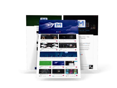 wordpress themes material design free 11 free material design wordpress themes to spice up your blog