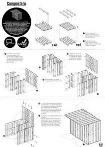 plans pour une table de pique nique et un composteur