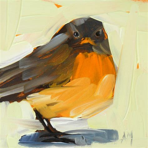 painting for s day robin no 17 angela moulton s painting a day