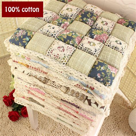 Quilted Chair Cushions by 100 Cotton Autumn And Thin Section Deals Quilted Chair Dining Chair Cushion Pad Office Stool