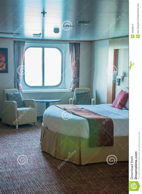 Reflection Inside Cabin by Cruise Ship Cabin Editorial Stock Photo Image 43930013