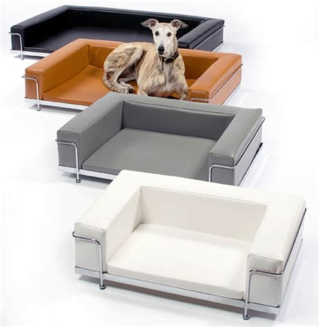 couch style dog beds designapplause dog sofa le corbusier style le corbusier