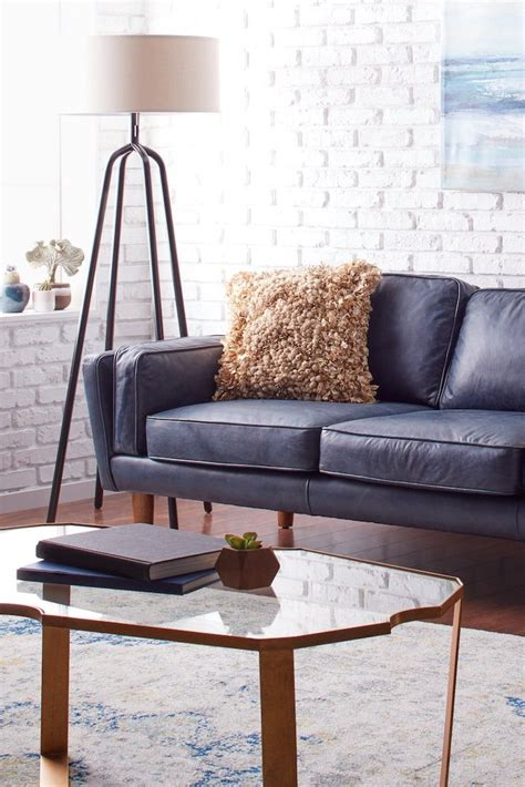 Blue Sofa Decor by How To Decorate With A Blue Sofa Overstock