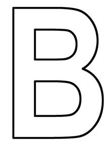 letter b coloring pages letter b coloring page coloring home