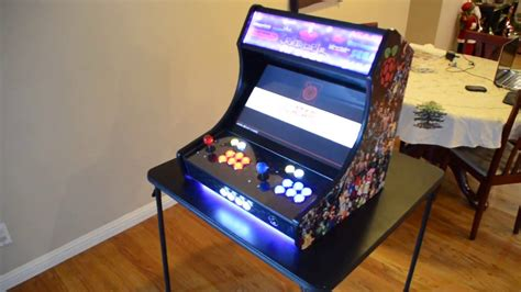 raspberry pi arcade cabinet kit raspberry pi 3 retropie bar top arcade cabinet build s