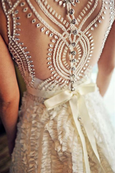 gorgeous beaded back wedding dresses sang maestro