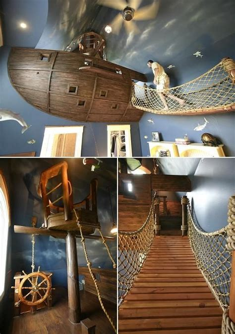25 best ideas about pirate ship bed on boat
