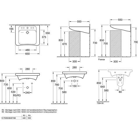 vita waschtisch villeroy boch architectura vita waschtisch 65 cm