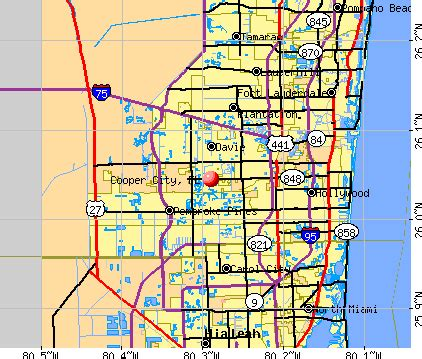 cooper city florida map cooper city florida fl profile population maps real