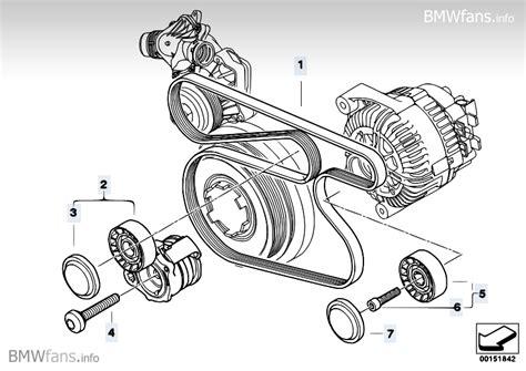 Belt Drive Water Pump/Alternator BMW 3' E90, 320d (M47N2